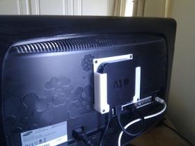 苹果电视安装架
